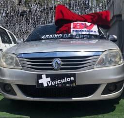 Título do anúncio: Renault Logan 1.6 Ano 2011 Flex completo
