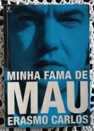 Livro Erasmo Carlos Minha Fama de Mau