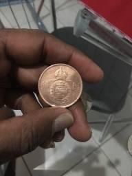 Moeda rara 40 Reis 1879
