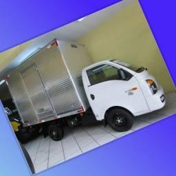 Título do anúncio: Frete e Mudança caminhão baú HR Goiás, Bahia, Manaus etc