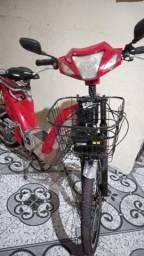 Título do anúncio: Bicicleta elétrica em bom estado