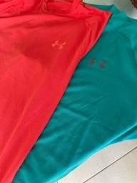 Título do anúncio: 2 camisas masculinas under armour originais novas!