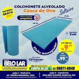 Colchonete Alveolado, Compre no zap *