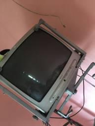 Tv tubo funcionando