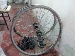 Par de Rodas de bicicleta aro 26