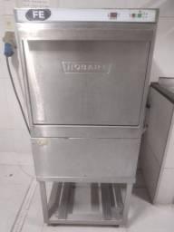 Título do anúncio: Vendo maquina inox industrial de lavar automatica FE Hobart