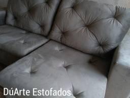 Sofá retrátil e reclinável Novo em 10xde 92.90