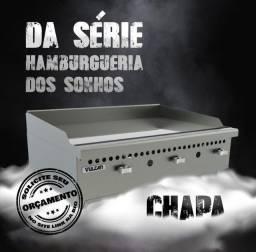 Título do anúncio: v- Chapa Vulcan pronta entrega (instalação grátis)