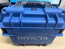Título do anúncio: Estojo Maleta Azul Invicta Novo