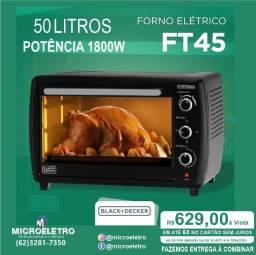 Título do anúncio: Forno Elétrico Ft50 50 Litros 1800w  Black+decker