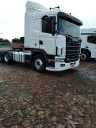 Título do anúncio: Caminhão SCANIA R 114 G 380 com ar condicionado