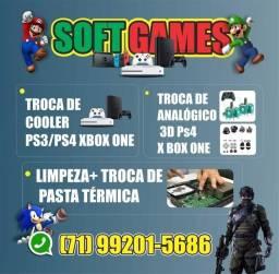 Título do anúncio: Assistência técnica especializada em Games (Somos Loja Física)