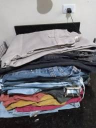 Lote de calça jeans adulto