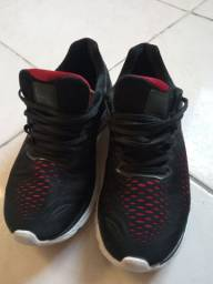 Tênis Olimpikus preto/vermelho