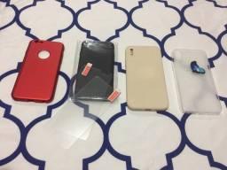 Case/Pelicula IPhone 6 e X ou XS
