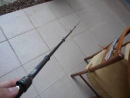 Mini vara de pesca Telescópica - Qing Yi - 1,5 m - nova