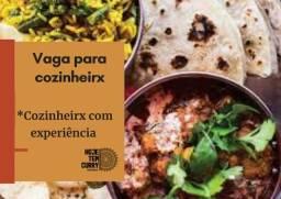 Título do anúncio: Vaga em restaurante indiano jovem para cozinheirx com experiência