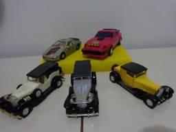 Coleção Carrinhos de Ferro Anos 80 e 90 - Relíquias - Miniaturas