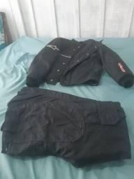 Vendo roupa de moto/chuva feminina