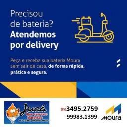 Título do anúncio: Bateria Moura pro seu Voyage com o menor valor da região.