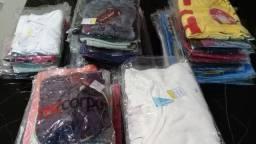 Título do anúncio: Kit 60 peças de Roupas Novas- 50 regatas e 10 blusas manga curta