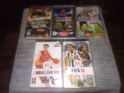 Jogos de PSP Vários Títulos.