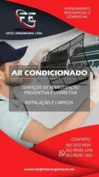 Título do anúncio: Instalação e limpeza de ar split