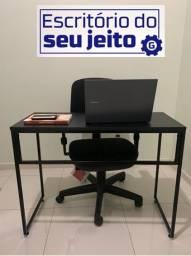 Título do anúncio: Mesa para Escritório Estilo Industrial - Parcelamos em 12X