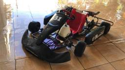 Kart 13hp fortex chassi Mini completo