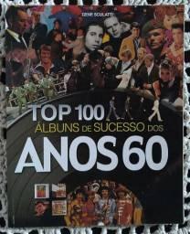Livro TOP 100 Albuns de Sucessos dos Anos 60
