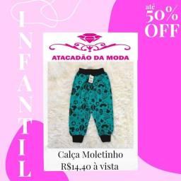 Título do anúncio: Calça moletinho bebê R$13,60