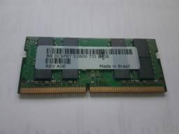 Memória Ram Notebook 8gb Ddr4 2400mhz Original Dell