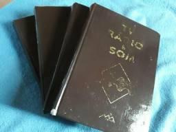 4 Volumes - Livros de Eletrônica Tv, Rádio e Som