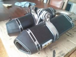 Vendo escape esportivo WR Racing Exhaust