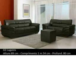 Promoção Sofa de 2 e 3 lugares Londres Corino