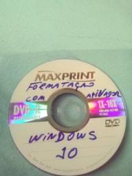 Dvd formataçao