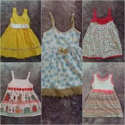 Lote de Vestidos ( 1 ano)