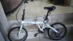 Bike dobrável, câmbio shimano