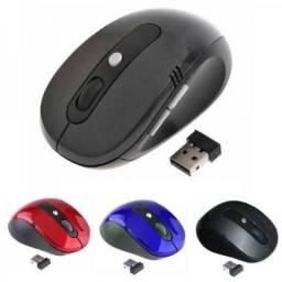 Mouse Sem Fio Wireless Usb Alcance 10m-Entregamos-grátis