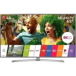 "Smart TV led 65"" LG 65UJ6545 Ultra HD 4k Conersor Digital Wi-Fi 4 HDMI 2 USB Webos 3.5 Mag"
