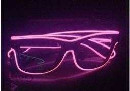Óculos para brincadeiras - led luminoso + função pisca