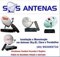 Técnico de antenas parabólicas