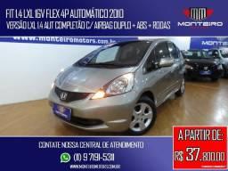 Honda Fit 1.4 LXL 16v Flex 4p Automático Completo C/ Rodas 80.700 Km - 2010