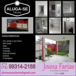 Alugo Casa 4/4 Nova Dias Dàvila