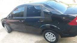 Fiesta sedan preto flex - 2007