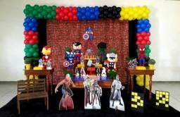 Decoração Vingadores Aniversário Infantil