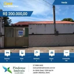 Casa em Nova Almeida, 3 quartos