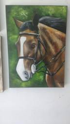Painel 50x70 cavalo horse