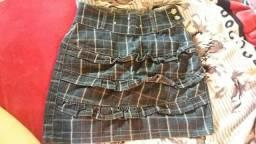 Saia Jeans N°40 Linda