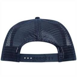 7b55a4622d029 Boné chapéu de rede telinha sem logo liso modelo truck aba curva unissex